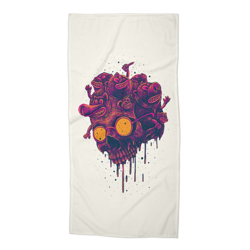 The freakout Accessories Beach Towel by David Maclennan