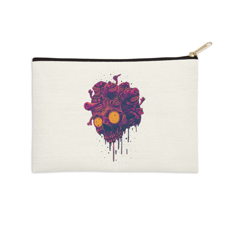 The freakout Accessories Zip Pouch by David Maclennan