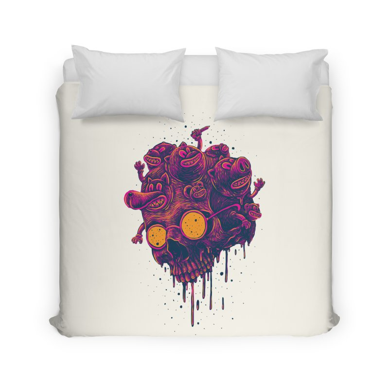 The freakout Home Duvet by David Maclennan