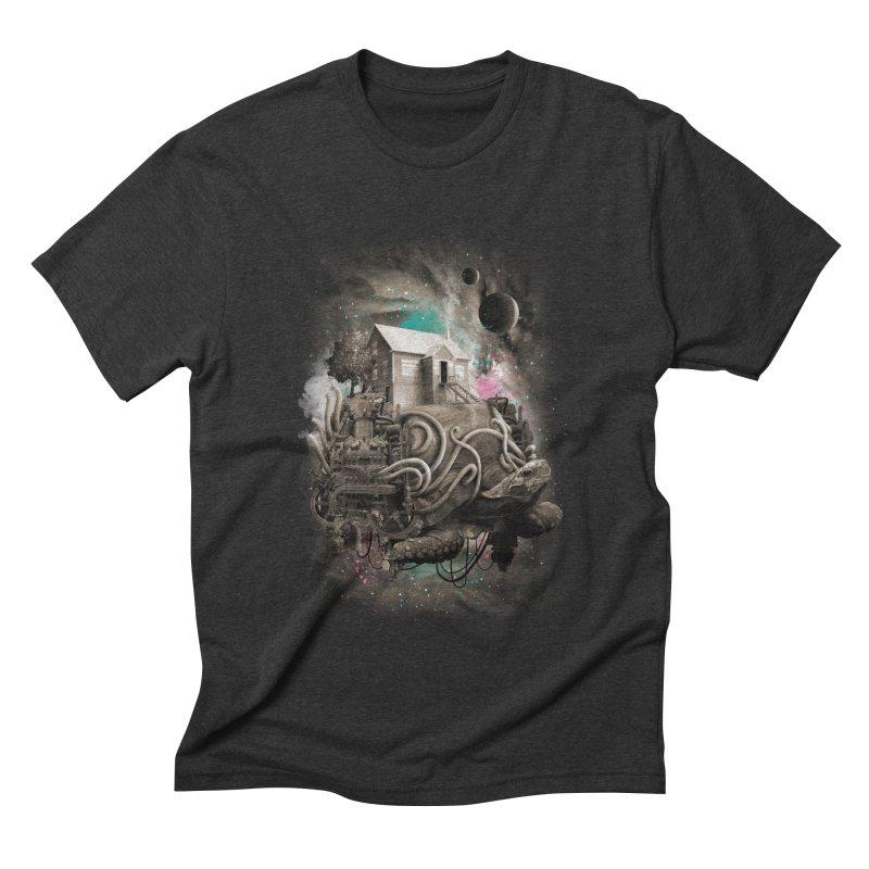 Home Men's T-Shirt by David Maclennan