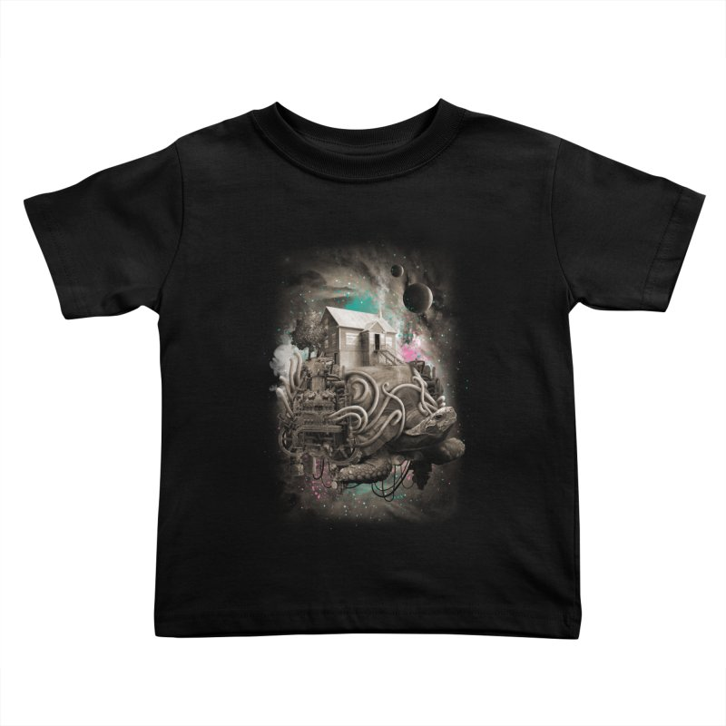 Home Kids Toddler T-Shirt by David Maclennan