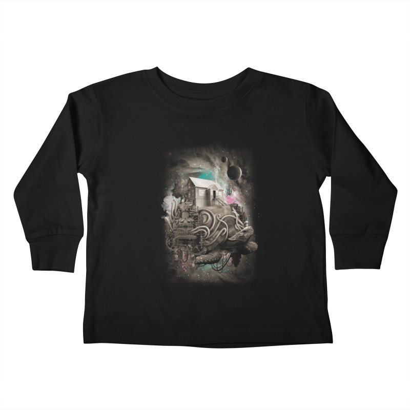 Home Kids Toddler Longsleeve T-Shirt by David Maclennan