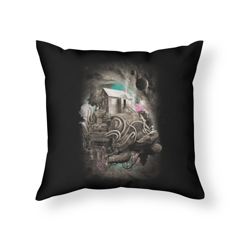Home Home Throw Pillow by David Maclennan