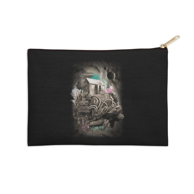 Home Accessories Zip Pouch by David Maclennan