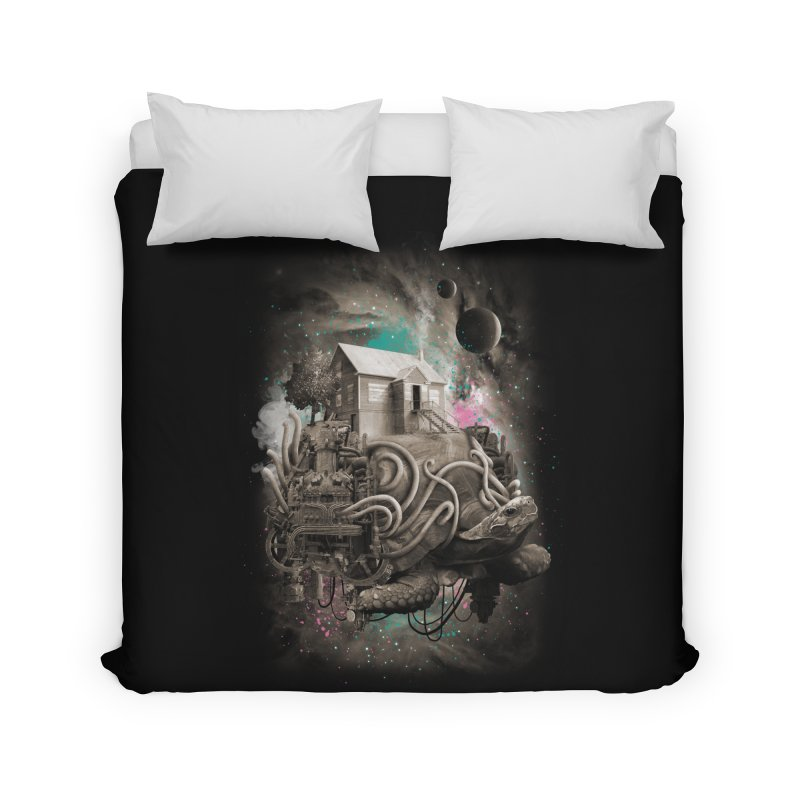 Home Home Duvet by David Maclennan