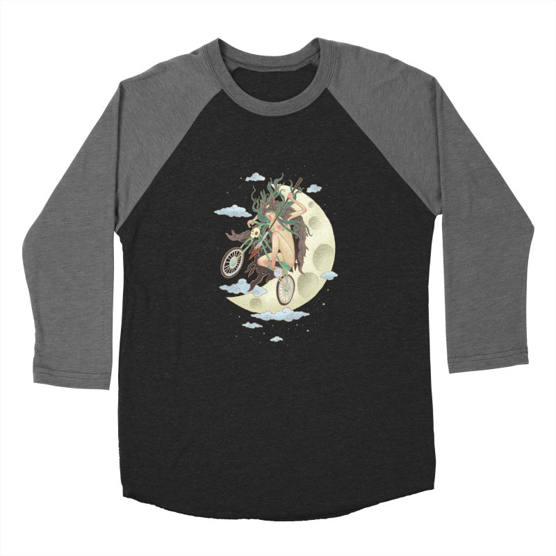 Valkyrie Women's Baseball Triblend Longsleeve T-Shirt by David Maclennan