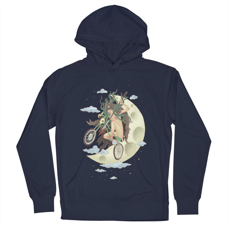 Valkyrie Men's French Terry Pullover Hoody by David Maclennan