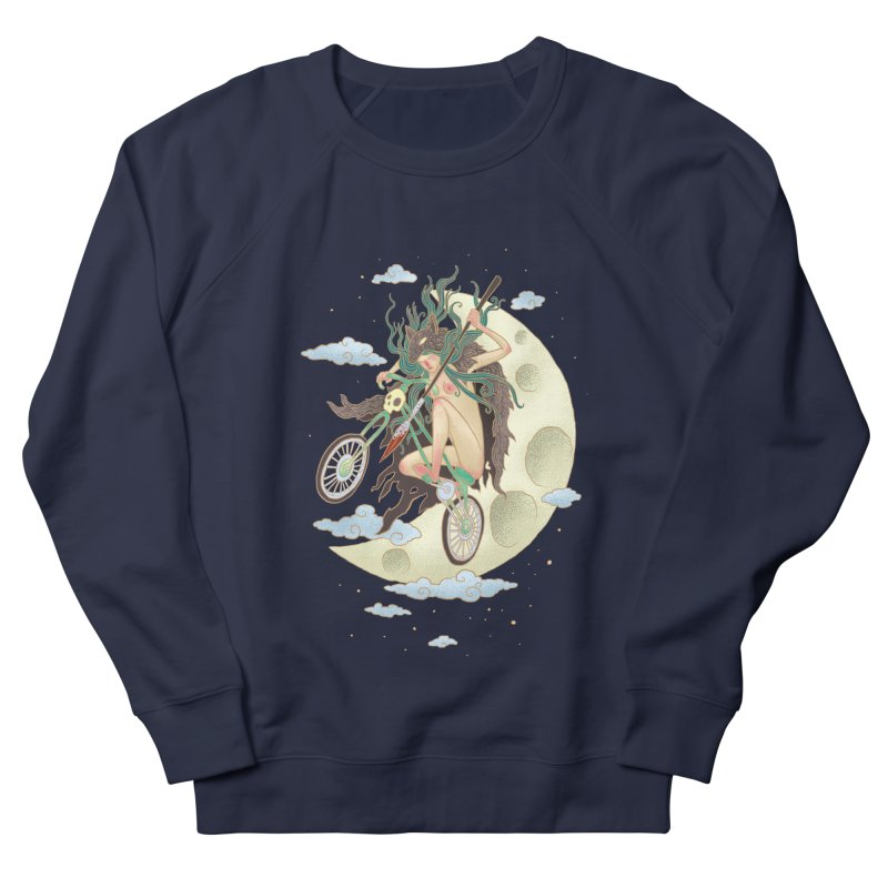 Valkyrie Men's French Terry Sweatshirt by David Maclennan