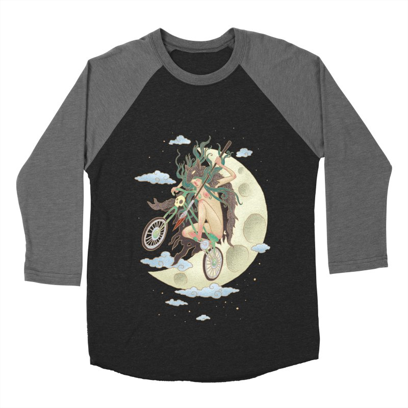 Valkyrie Men's Baseball Triblend Longsleeve T-Shirt by David Maclennan