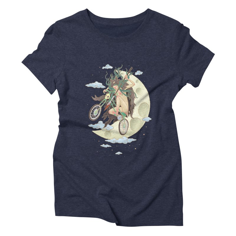 Valkyrie Women's Triblend T-Shirt by David Maclennan