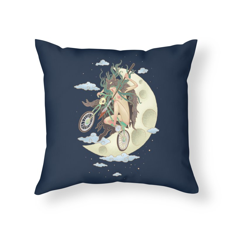 Valkyrie Home Throw Pillow by David Maclennan
