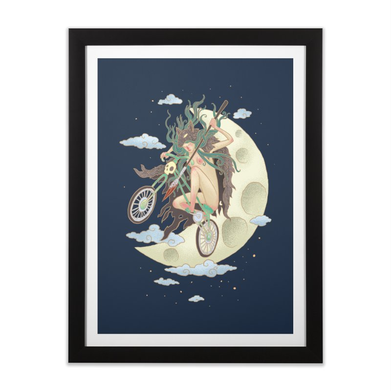 Valkyrie Home Framed Fine Art Print by David Maclennan