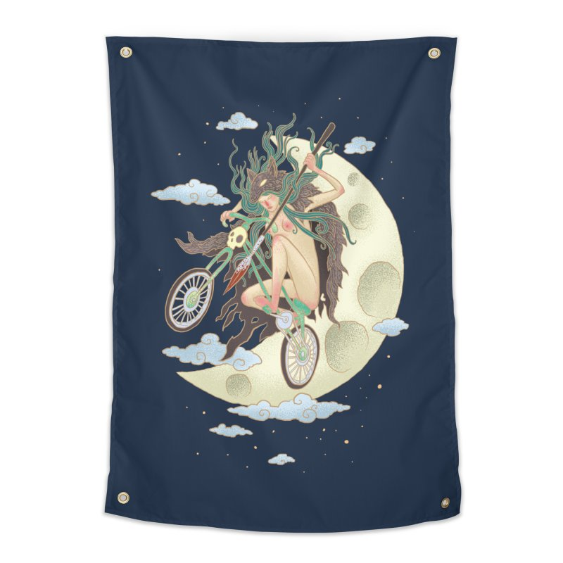 Valkyrie Home Tapestry by David Maclennan
