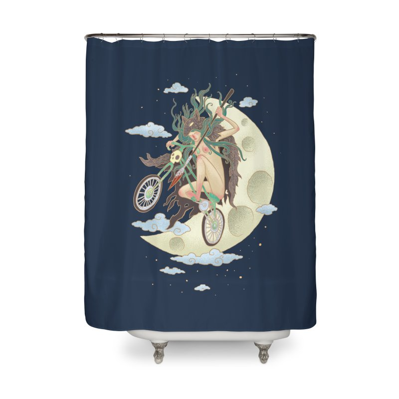 Valkyrie Home Shower Curtain by David Maclennan