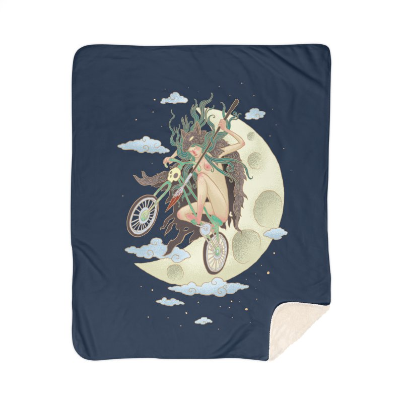 Valkyrie Home Sherpa Blanket Blanket by David Maclennan