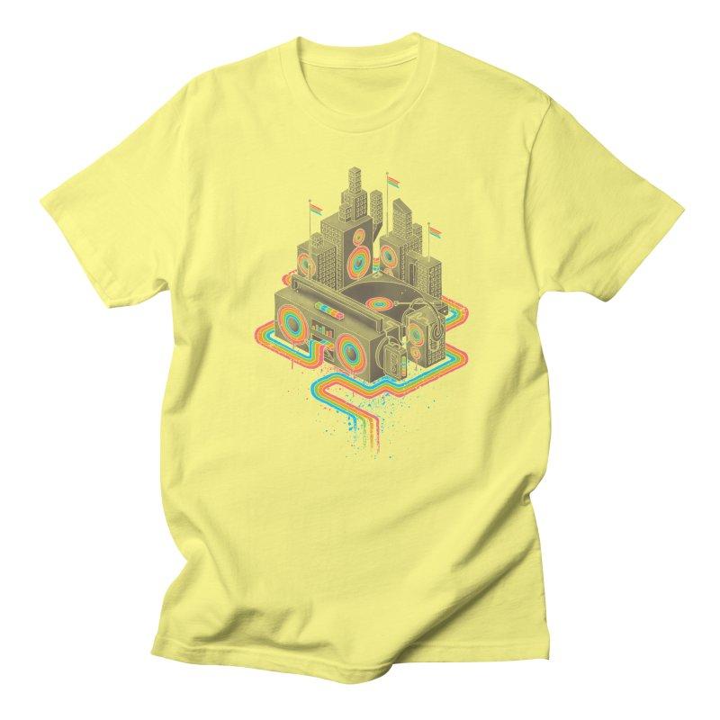 Funk City Men's T-Shirt by David Maclennan