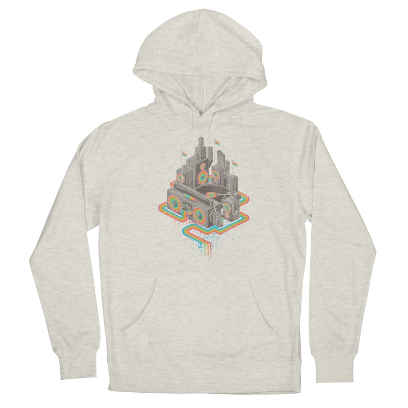 Funk City Men's French Terry Pullover Hoody by David Maclennan