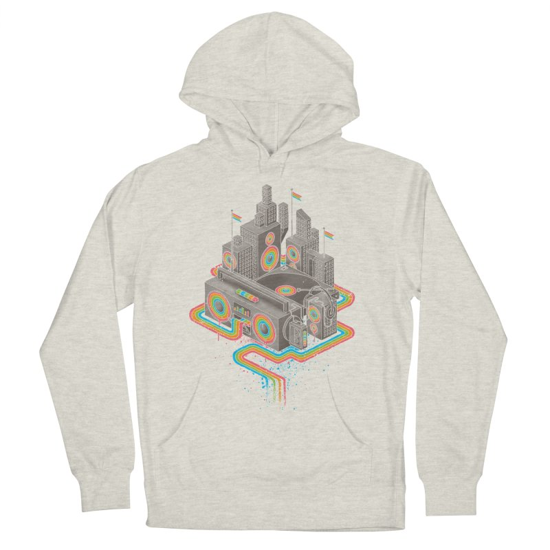 Funk City Women's French Terry Pullover Hoody by David Maclennan