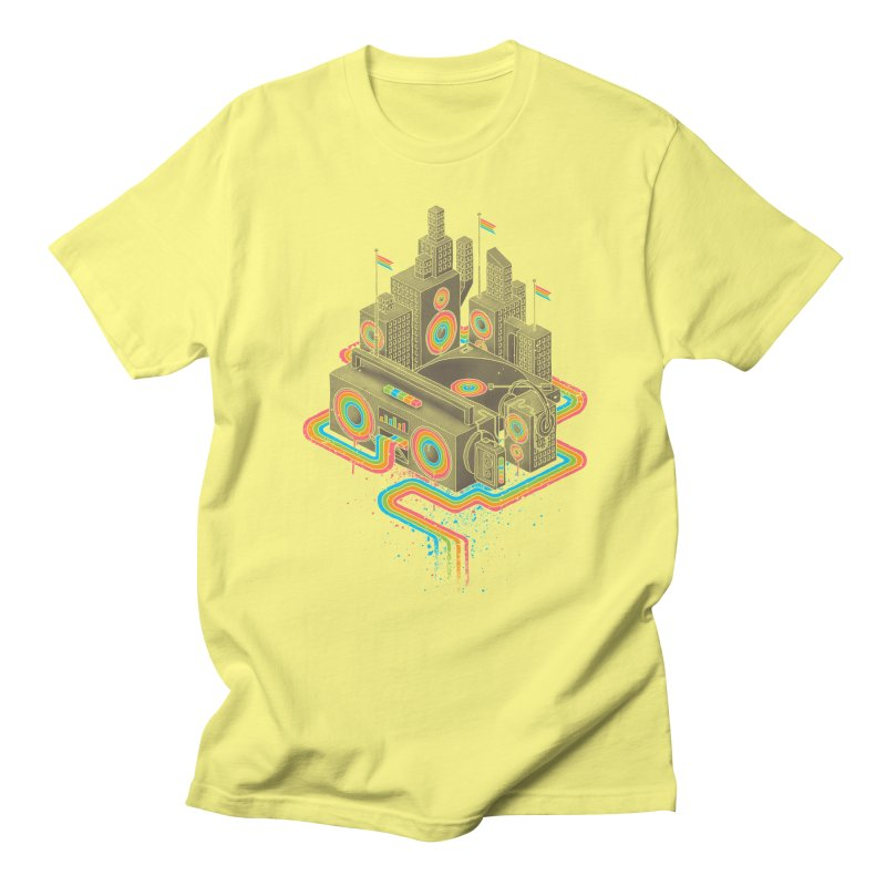 Funk City Men's T-Shirt by David Maclennan
