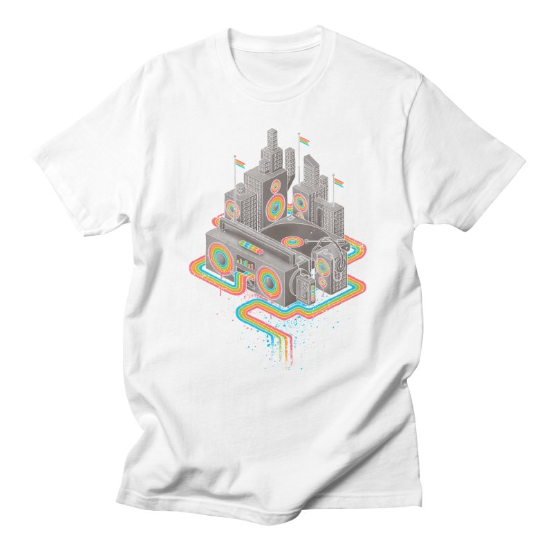 Funk City Men's Regular T-Shirt by David Maclennan