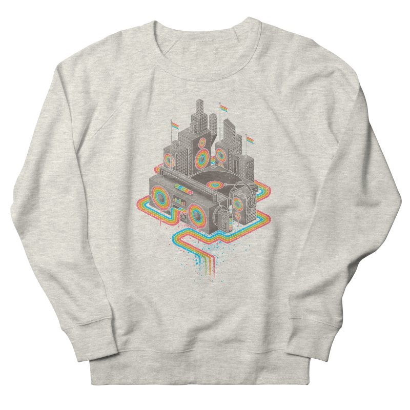 Funk City Women's French Terry Sweatshirt by David Maclennan