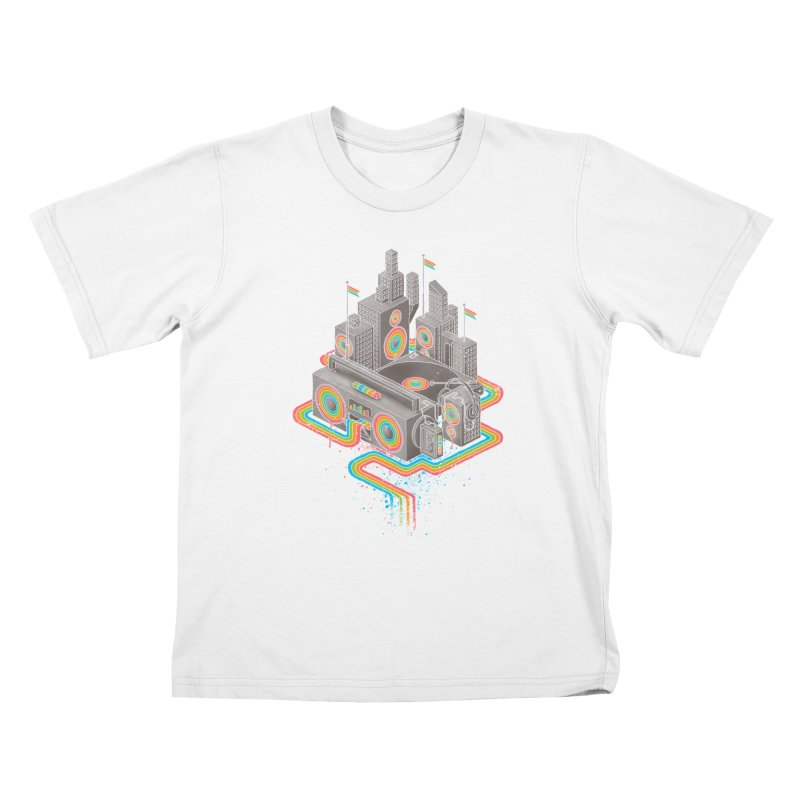 Funk City Kids T-Shirt by David Maclennan