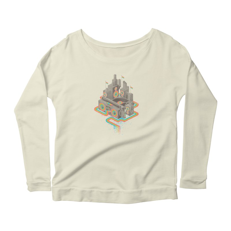 Funk City Women's Longsleeve T-Shirt by David Maclennan