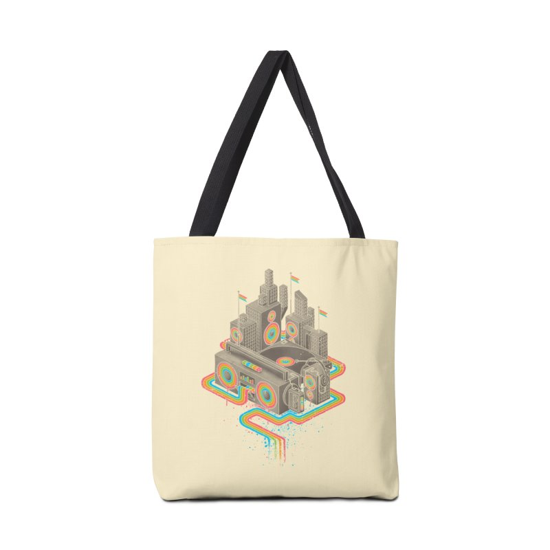Funk City Accessories Tote Bag Bag by David Maclennan