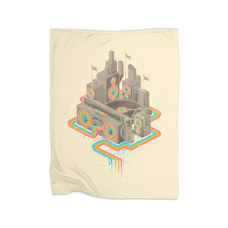 Funk City Home Blanket by David Maclennan