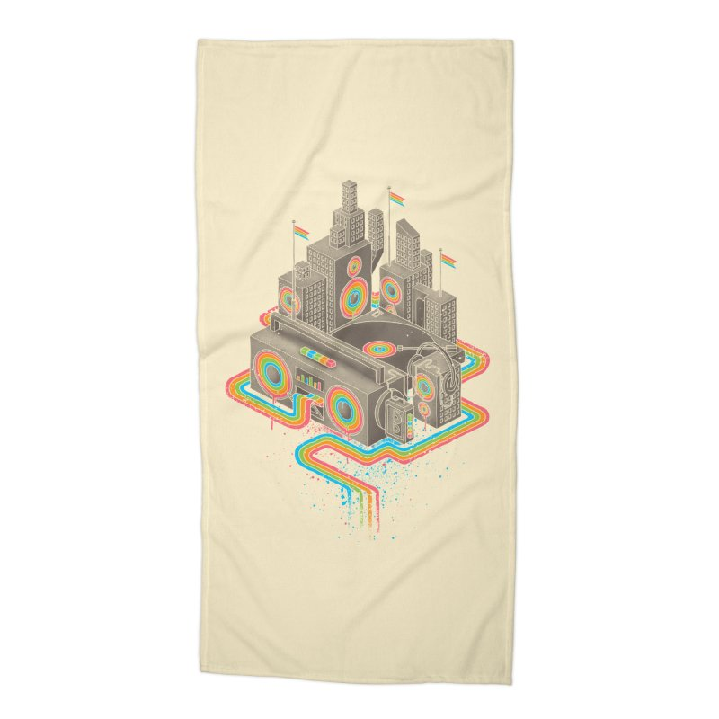 Funk City Accessories Beach Towel by David Maclennan