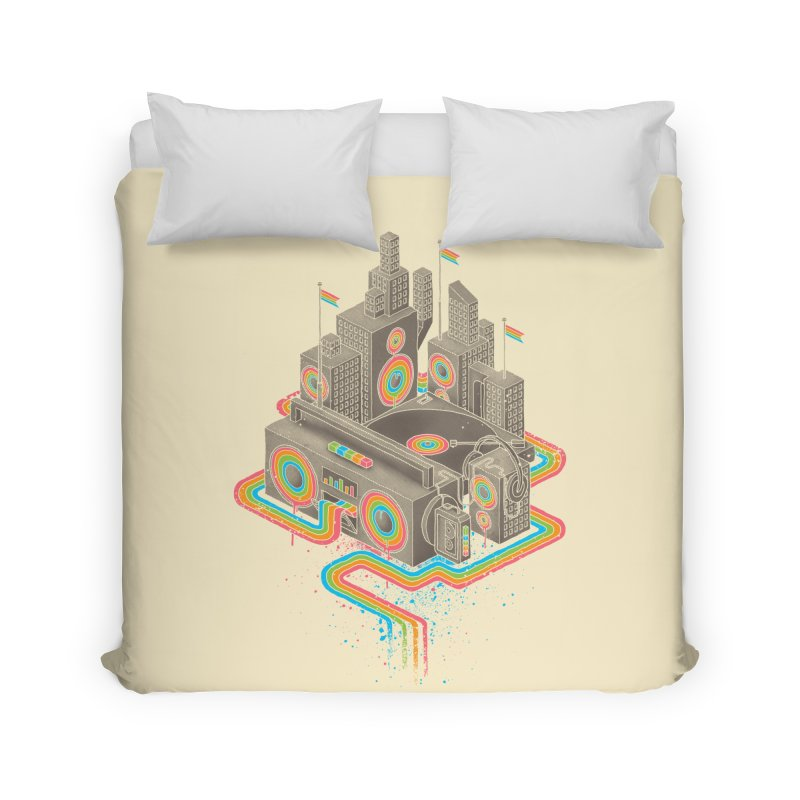 Funk City Home Duvet by David Maclennan