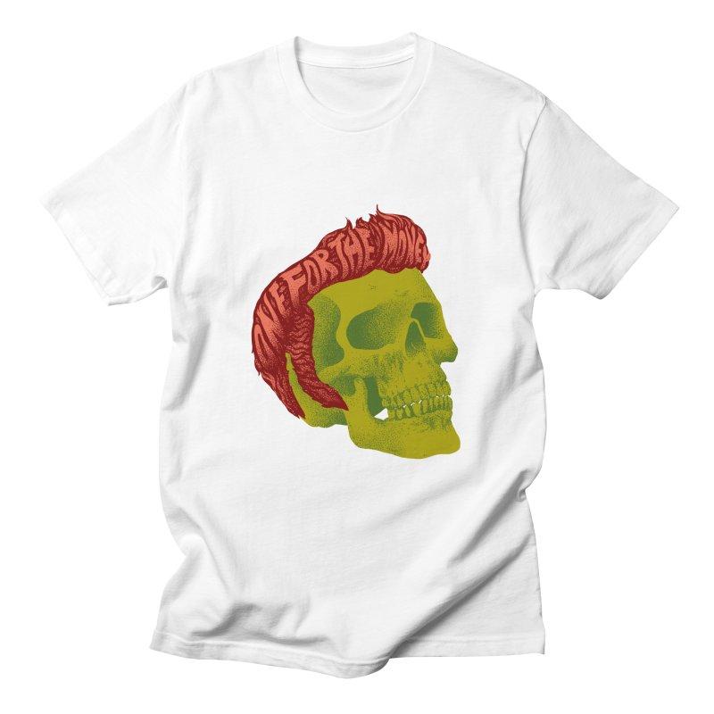 The King Women's T-Shirt by David Maclennan