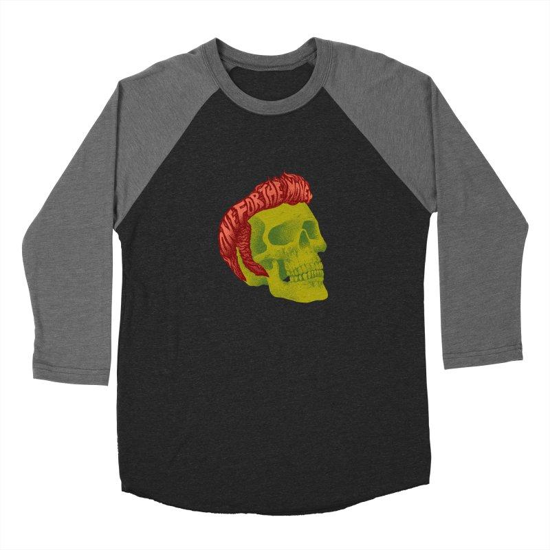 The King Men's Baseball Triblend Longsleeve T-Shirt by David Maclennan