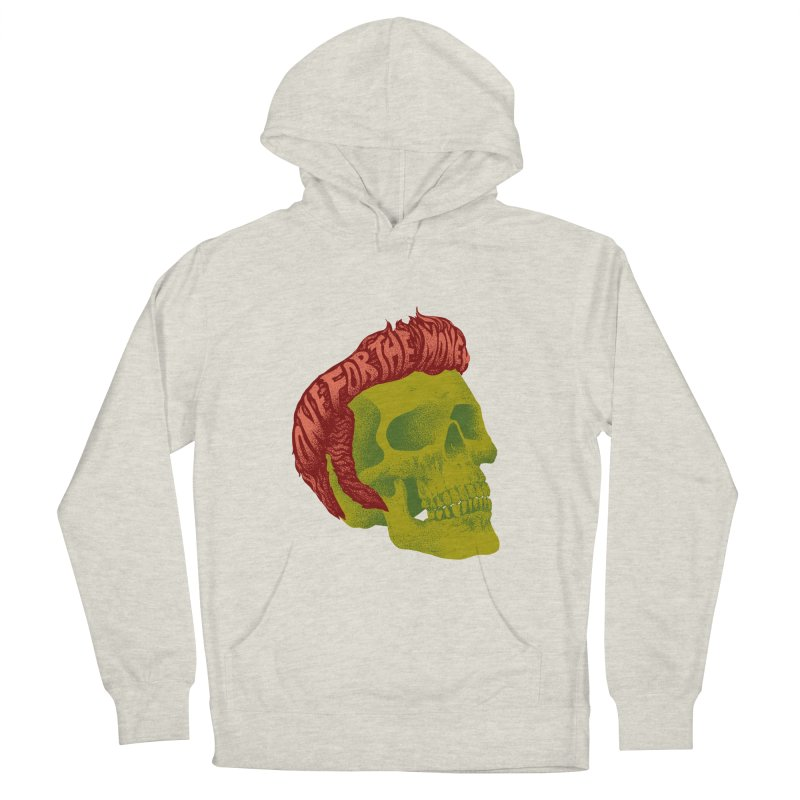 The King Men's Pullover Hoody by David Maclennan