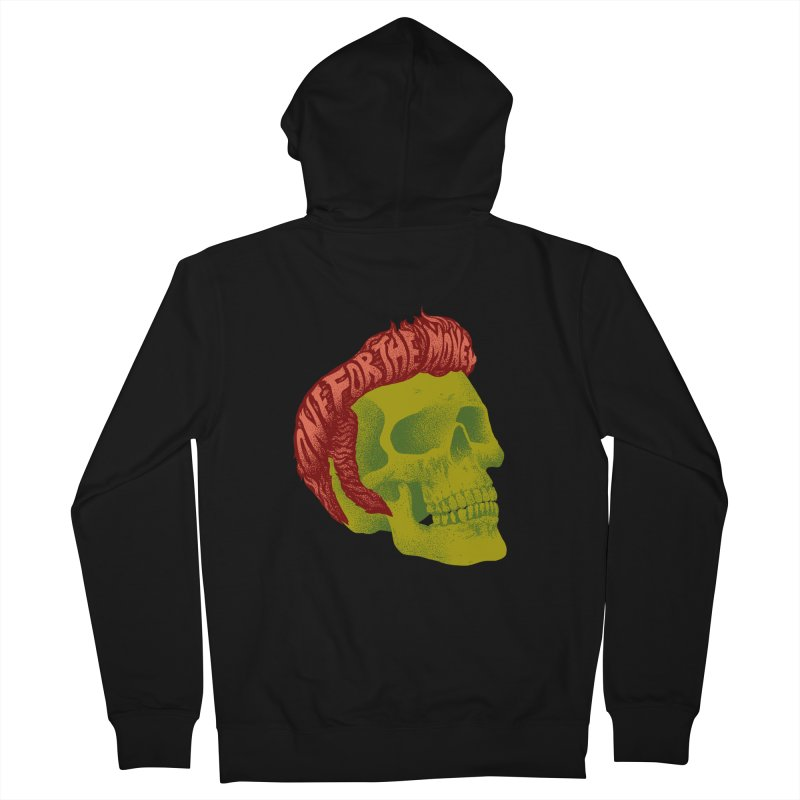 The King Men's French Terry Zip-Up Hoody by David Maclennan