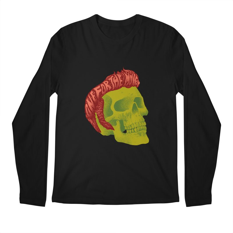The King Men's Regular Longsleeve T-Shirt by David Maclennan