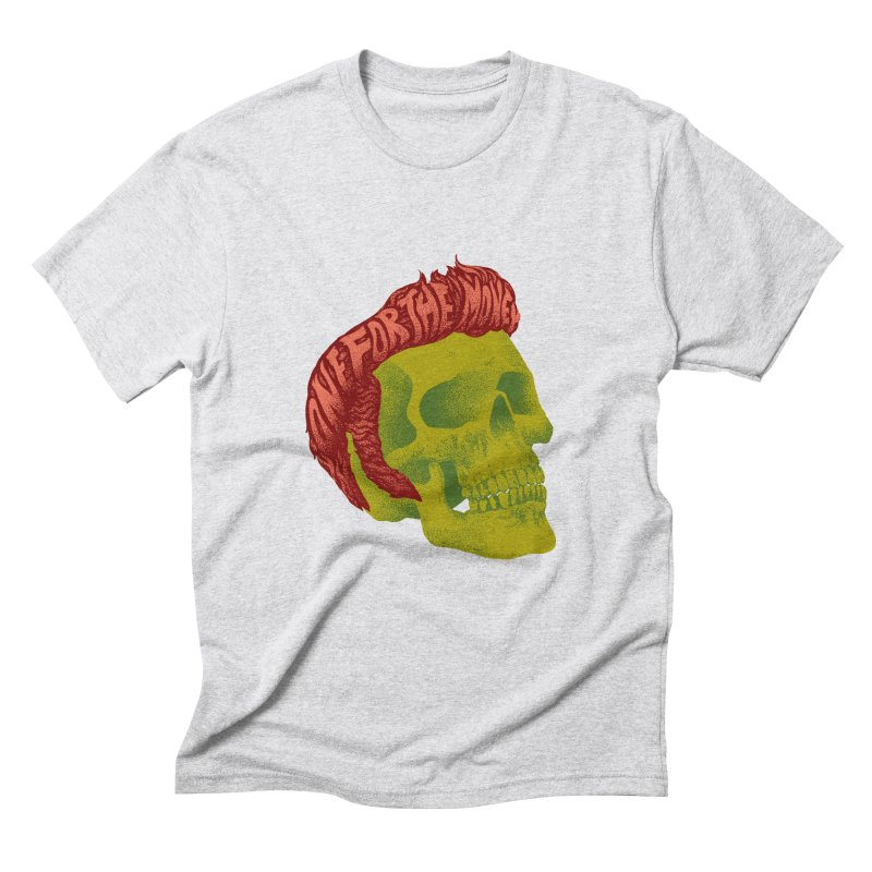 The King Men's Triblend T-Shirt by David Maclennan