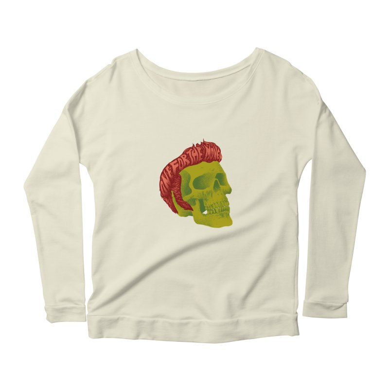 The King Women's Longsleeve T-Shirt by David Maclennan