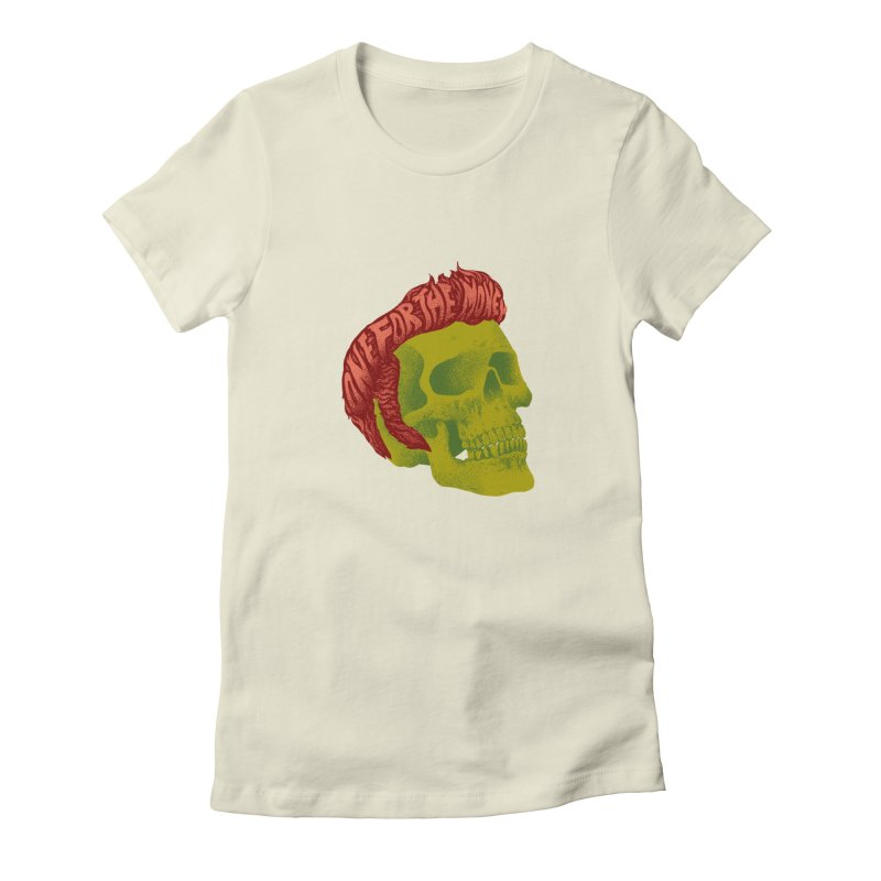 The King Women's T-Shirt by David Maclennan