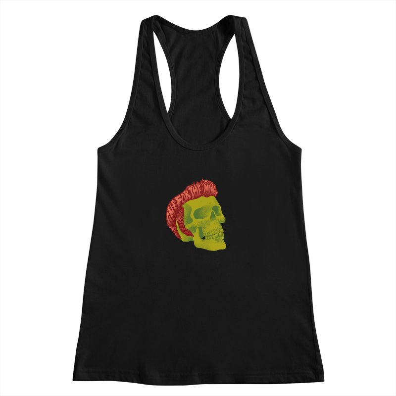 The King Women's Tank by David Maclennan
