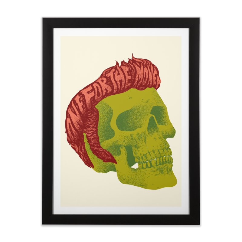 The King Home Framed Fine Art Print by David Maclennan
