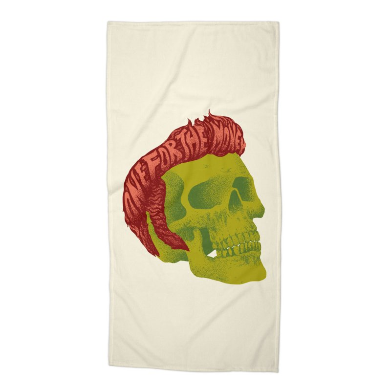 The King Accessories Beach Towel by David Maclennan