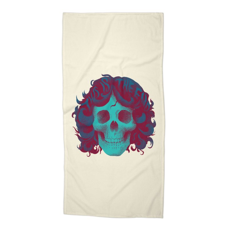 Jim Accessories Beach Towel by David Maclennan