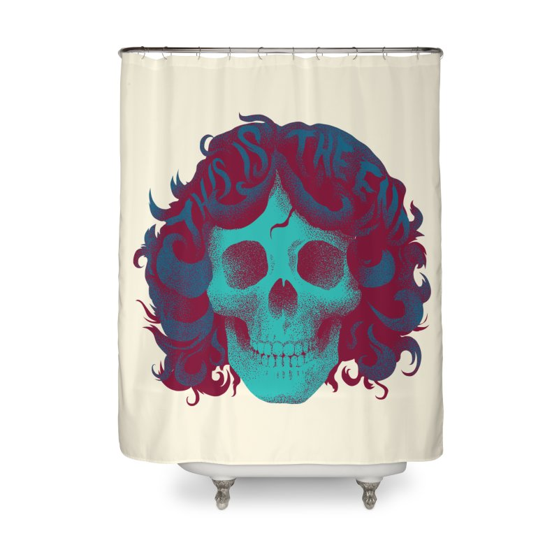 Jim Home Shower Curtain by David Maclennan