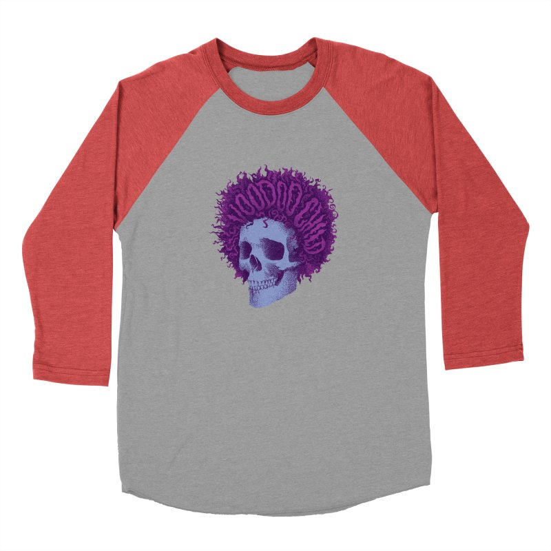 Jimi Women's Baseball Triblend Longsleeve T-Shirt by David Maclennan