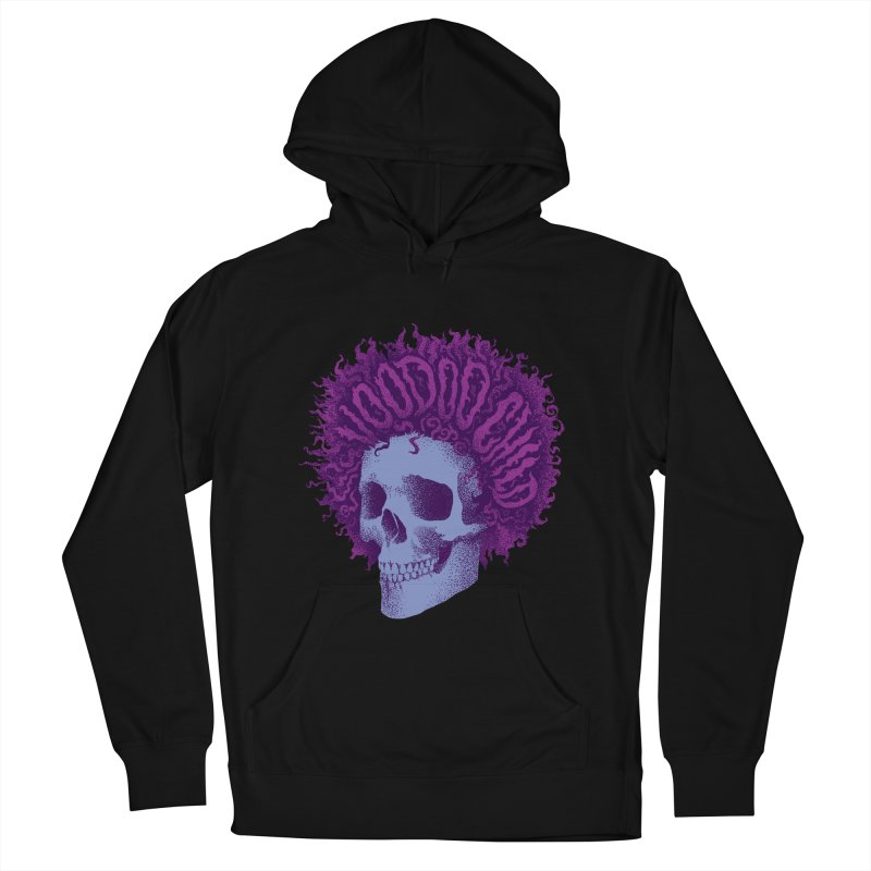 Jimi Women's French Terry Pullover Hoody by David Maclennan