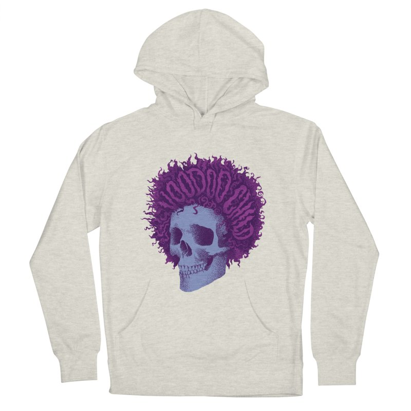 Jimi Men's French Terry Pullover Hoody by David Maclennan