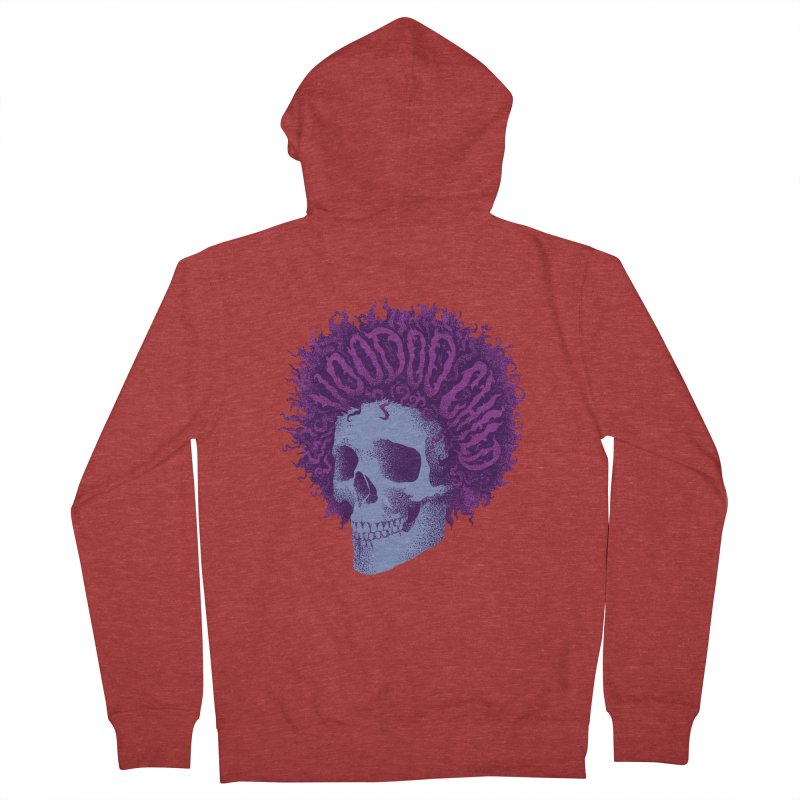 Jimi Men's French Terry Zip-Up Hoody by David Maclennan