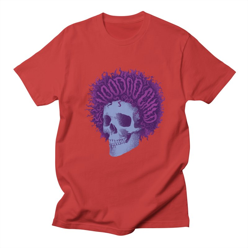Jimi Men's Regular T-Shirt by David Maclennan