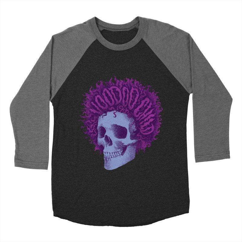 Jimi Women's Baseball Triblend T-Shirt by David Maclennan